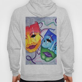 Comedy and Tragedy Hoody