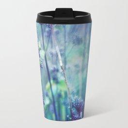 Morning Purples and Greens Travel Mug