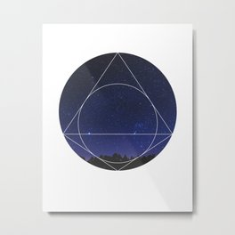 Magical Universe - Geometric Photographic Metal Print