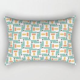 Starry little rectangles Rectangular Pillow