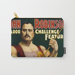 Louis Cyr, Strongest Man on Earth Carry-All Pouch