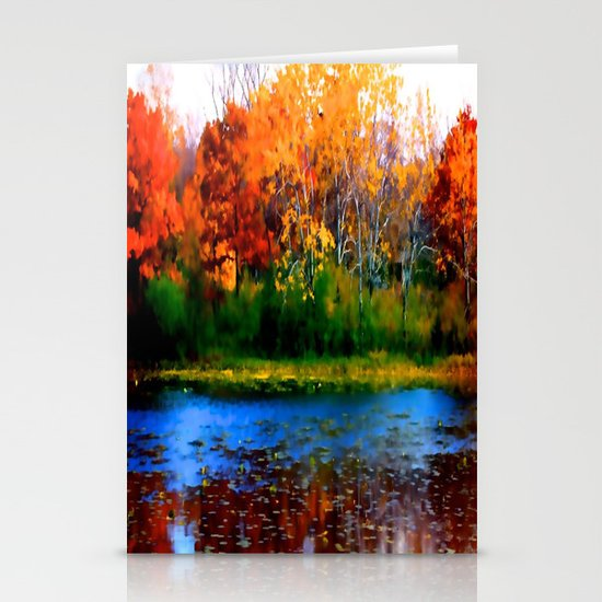 Remember Autumn Stationery Cards
