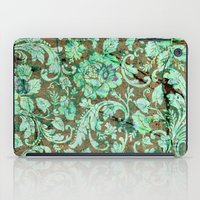 flower pattern iPad Cases featuring Flower pattern by nicky2342
