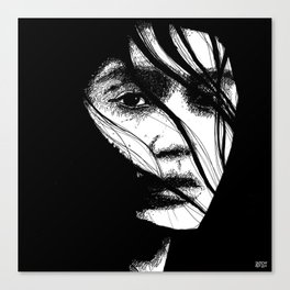 The Expected Intensity (Sketchy Reputation / Jeff Gross) Canvas Print