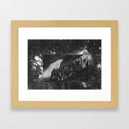 voie lactée Framed Art Print