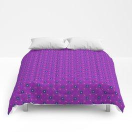Uptown Ultraviolet Pattern Comforters