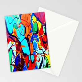 Confrontation II Stationery Cards