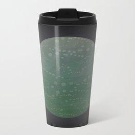 Undiscovered Planet: Green Metal Travel Mug