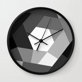 Black and white KOLOR Wall Clock