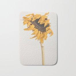 I'll Keep On Standing - Sunflower Bath Mat