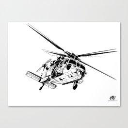 MH-60S Sea Hawk Canvas Print