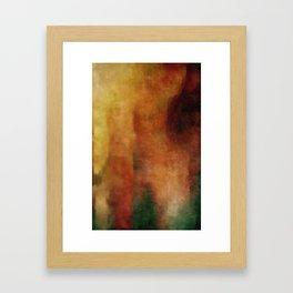 #4 ANGRY Framed Art Print