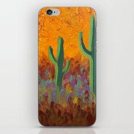 Saguaros Dreaming iPhone Skin