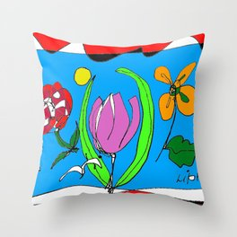 A Special Day             by Kay Lipton Throw Pillow