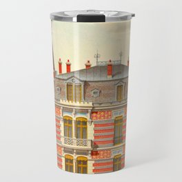 Brick constructions; ordinary brick from a decorative point of view - J. Lacroux and C. Détain - 187 Travel Mug