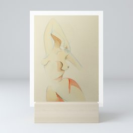 beam me up scotty Mini Art Print