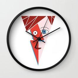 Cubist Aladdin Sane Wall Clock