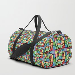 Stained-glass Duffle Bag