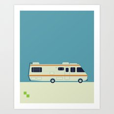 The Breaking Bad RV Art Print