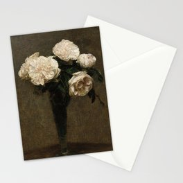 Roses in a Vase Stationery Cards