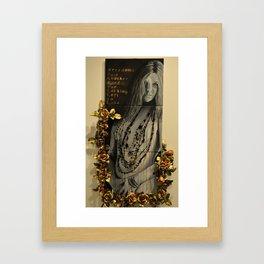 Janis' Beauty Framed Art Print