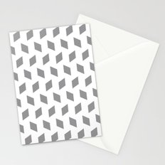 rhombus bomb in alloy Stationery Cards