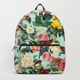 Floral and Birds III Backpack
