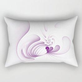 Purple Swirls Rectangular Pillow