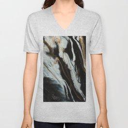 Fine Art Agate Unisex V-Neck