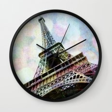 Paris 2 Wall Clock