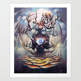 Obsession (obcepssion) Art Print