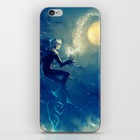 jack frost iPhone & iPod Skins featuring Jack Frost by AkiMao
