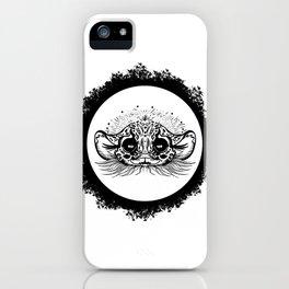 Half Cute Wild Cat iPhone Case