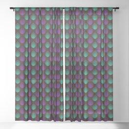 Pattern #39 Sheer Curtain