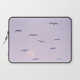 Seagulls & Moon by Murray Bolesta Laptop Sleeve