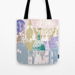 Copenhagen Collage Tote Bag