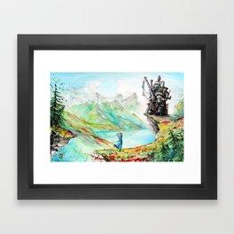 """Into my dreams"" Framed Art Print"