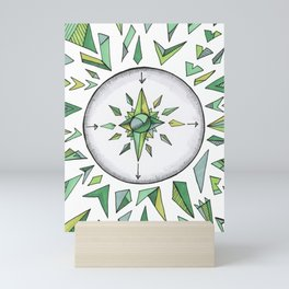 Internal Compass Mini Art Print