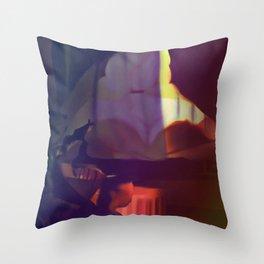 Femme fatale Throw Pillow