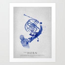 Symphony Series: The Horn Art Print