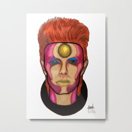 My Version of Ziggy 1 Metal Print