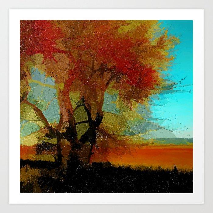 Red Tree Kunstdrucke