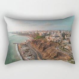 Lima in Peru Rectangular Pillow