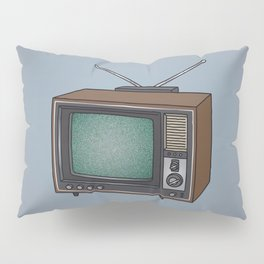 Television set TV Pillow Sham
