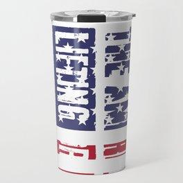 The American Lifting Dream WeightLifting Apparel Patriotic Travel Mug