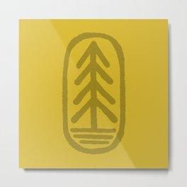 tree badge Metal Print