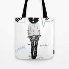 Just be Yourself Tote Bag