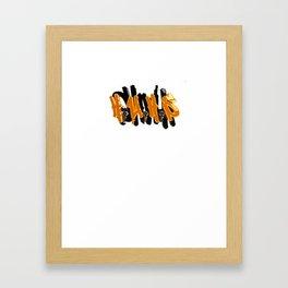 HUHS Framed Art Print