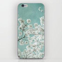 flowering season iPhone Skin