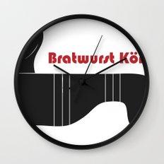 Bratwurst Körper  Wall Clock